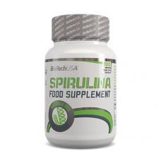 Спіруліна, BioTechUSA, Spirulina, 900 мг, 100 таблеток
