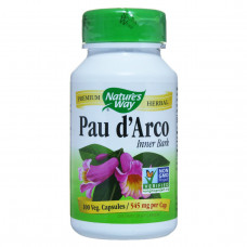 По д`Арко, Nature's Way, Pau d`Arco, 545 мг, 100 капсул