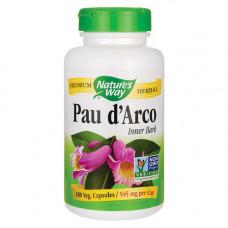 По д`Арко, Nature's Way, Pau d`Arco, 545 мг, 180 капсул