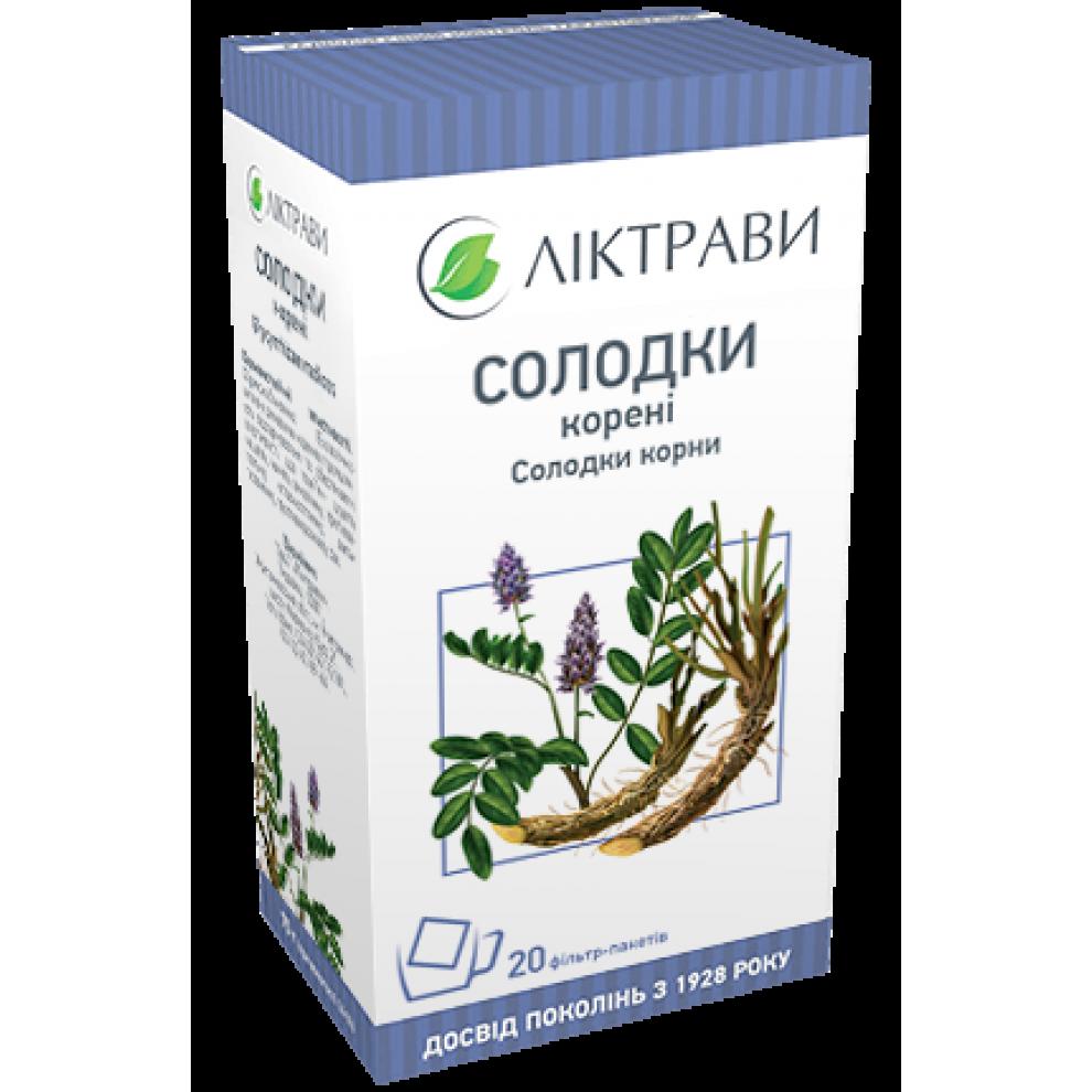 Солодки корень, Ліктрави, 100 гр