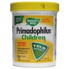 Пробиотики для детей, Nature's Way, Primadophilus Children powder, 141 г