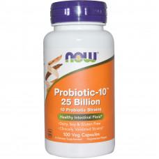 Пробиотики, Now Foods, 25 млрд, 50 капсул