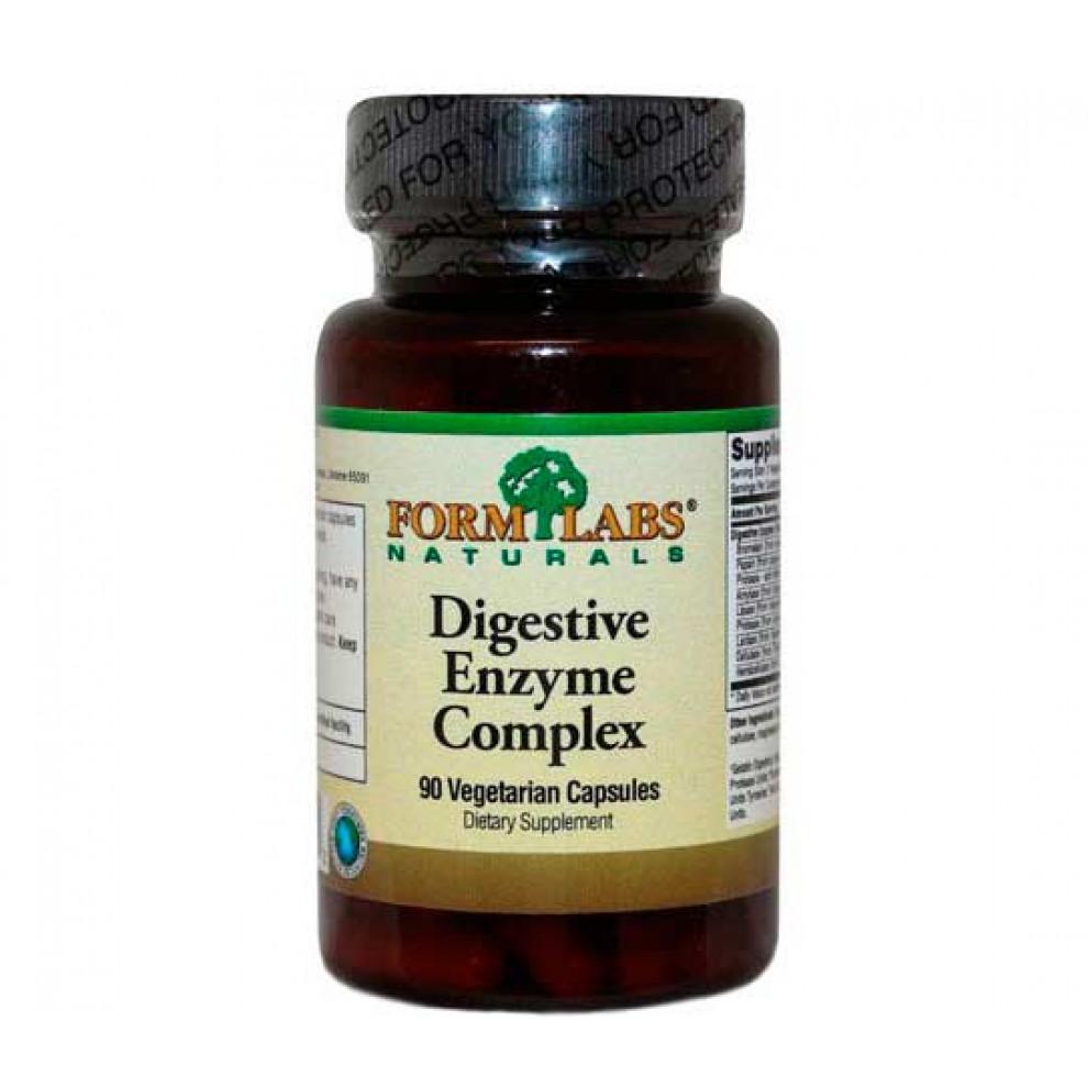 Ензим комплекс, Form Labs, Enzym complex, 90 капсул