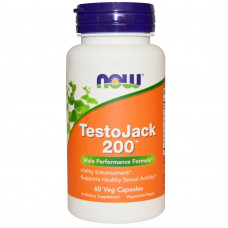 ТестоДжек, Now Foods, TestoJack, 60 капсул