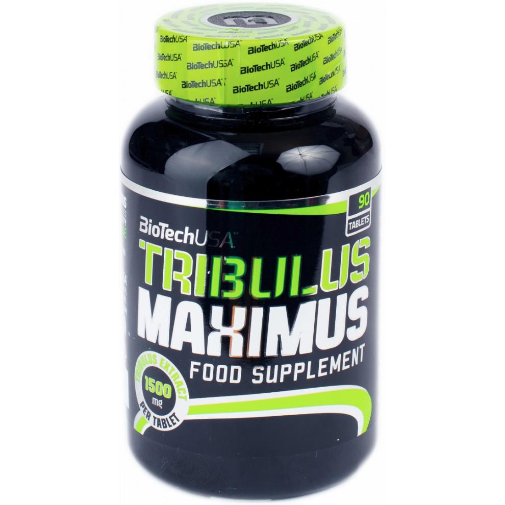Трибулус, BiotecUSA, Tribulus, 1500 мг, 90 таблеток