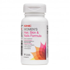 Витамины, GNC, Women's Hair, Skin & Nails Formula, 60 таблеток