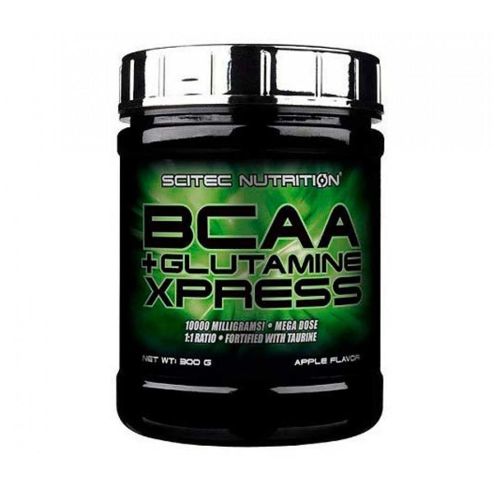 БЦАА, Scitec Nutrition, BCAA + Glutamine xpress, 280 г