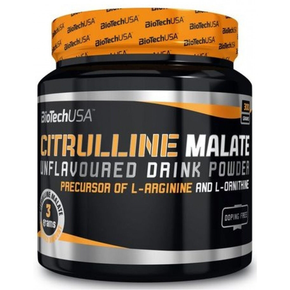 Цитрулін маалат, BiotechUSA, Citrulline Malate, 300 г