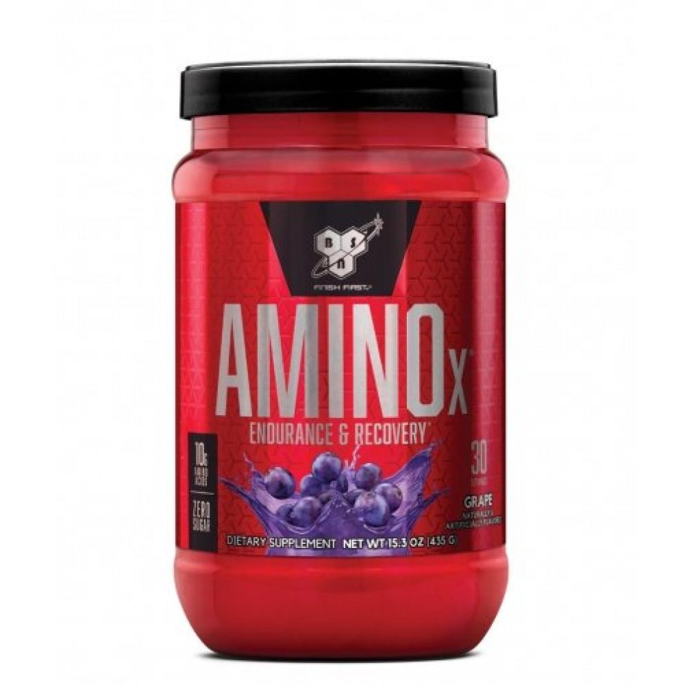 Аміно-X, BSN, Amino-X, (виноград), 435 г