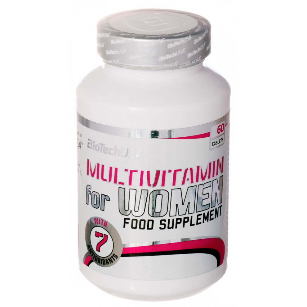Мультивитамины, BiotechUSA, Multivitamin for Women, 60 таблеток