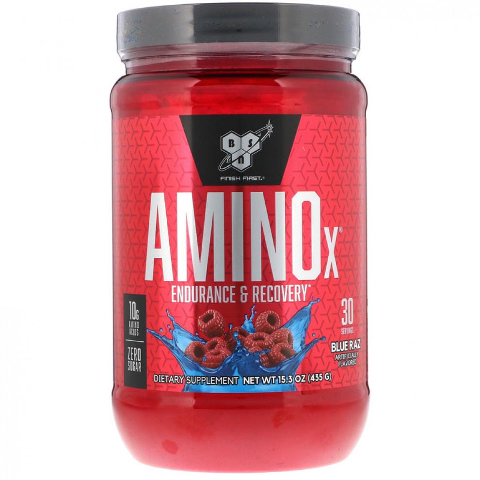 Аміно-X, BSN, Amino-X, (малина), 435 г