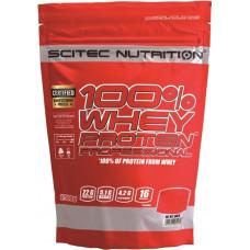 Протеин, Scitec Nutrition, 100% Whey Protein, (ваниль), 500 г