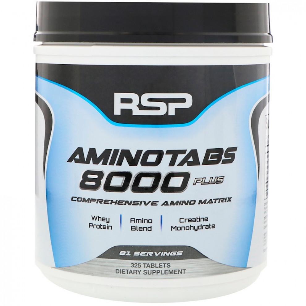 Аміно, RSP,  Amino 8000 plus, 325 таблеток