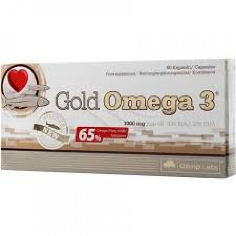 Омега 3, Olimp Gold Omega 3, 120 капсул