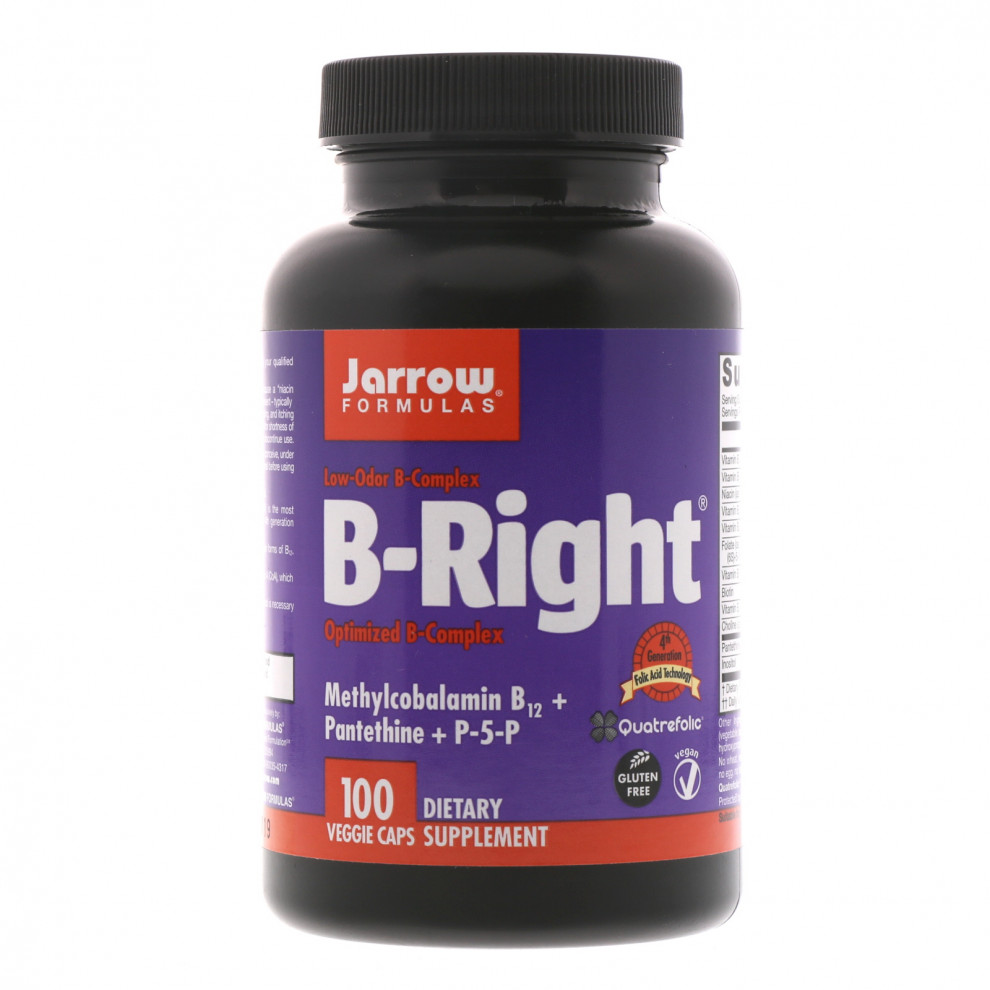Витамин B12, Jarrow, Vitamin B12, 1000 мкг, 100 таблеток
