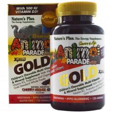 Мультивітаміни для дітей, Natures Plus, Children`s Multi-vitamin, 120 таблеток