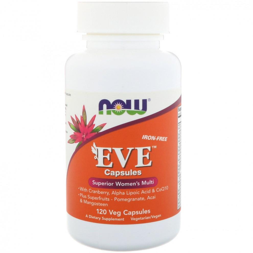 Вітамінний комплекс для жінок, Now Foods, EVE, 90 капсул