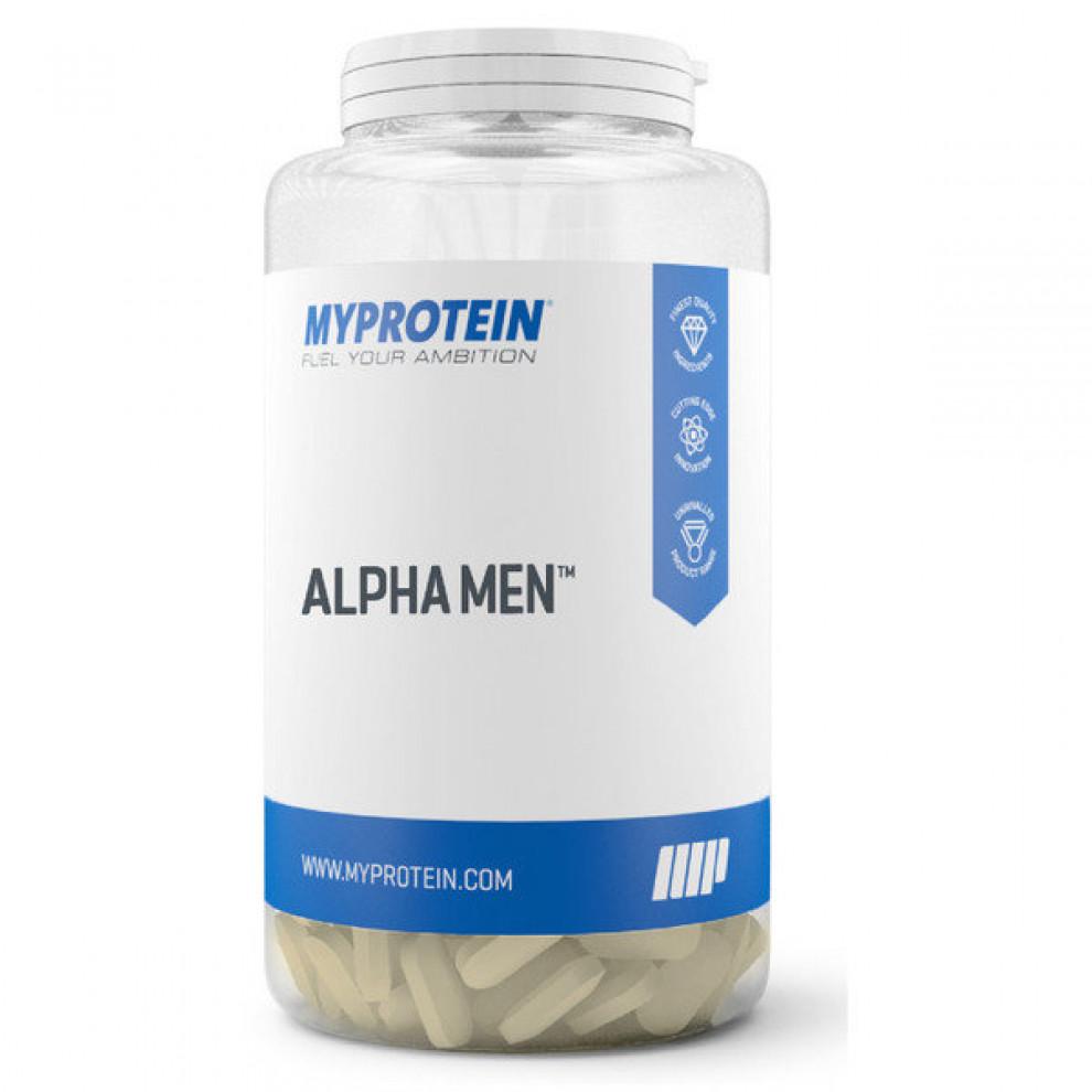Мультивитамины, MyProtein, Alpha Men, 120 таблеток