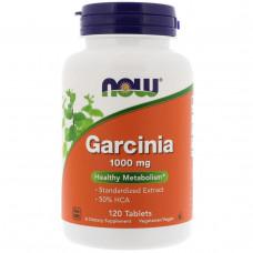 Гарциния, Now Foods, Garcinia, 1000 мг, 120 таблеток