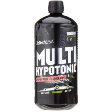 Гіпотонік, BiotechUSA, Multi Hypotonic, грейпфрут, 1000 мл
