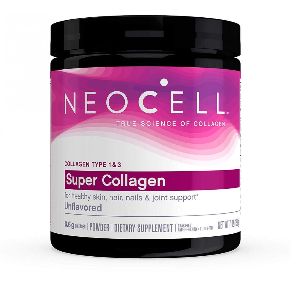 Супер колаген + вітамін  С, типи 1 і 3, Neocell, Super collagen+C, 6600 мг, 198 мг