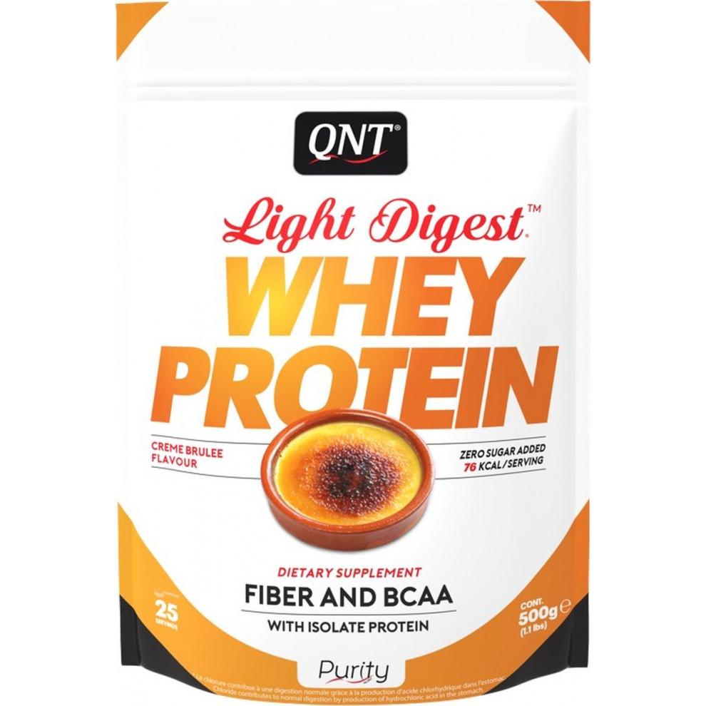 Протеїн, QNT, Whey Protein, крем брюле, 500 г