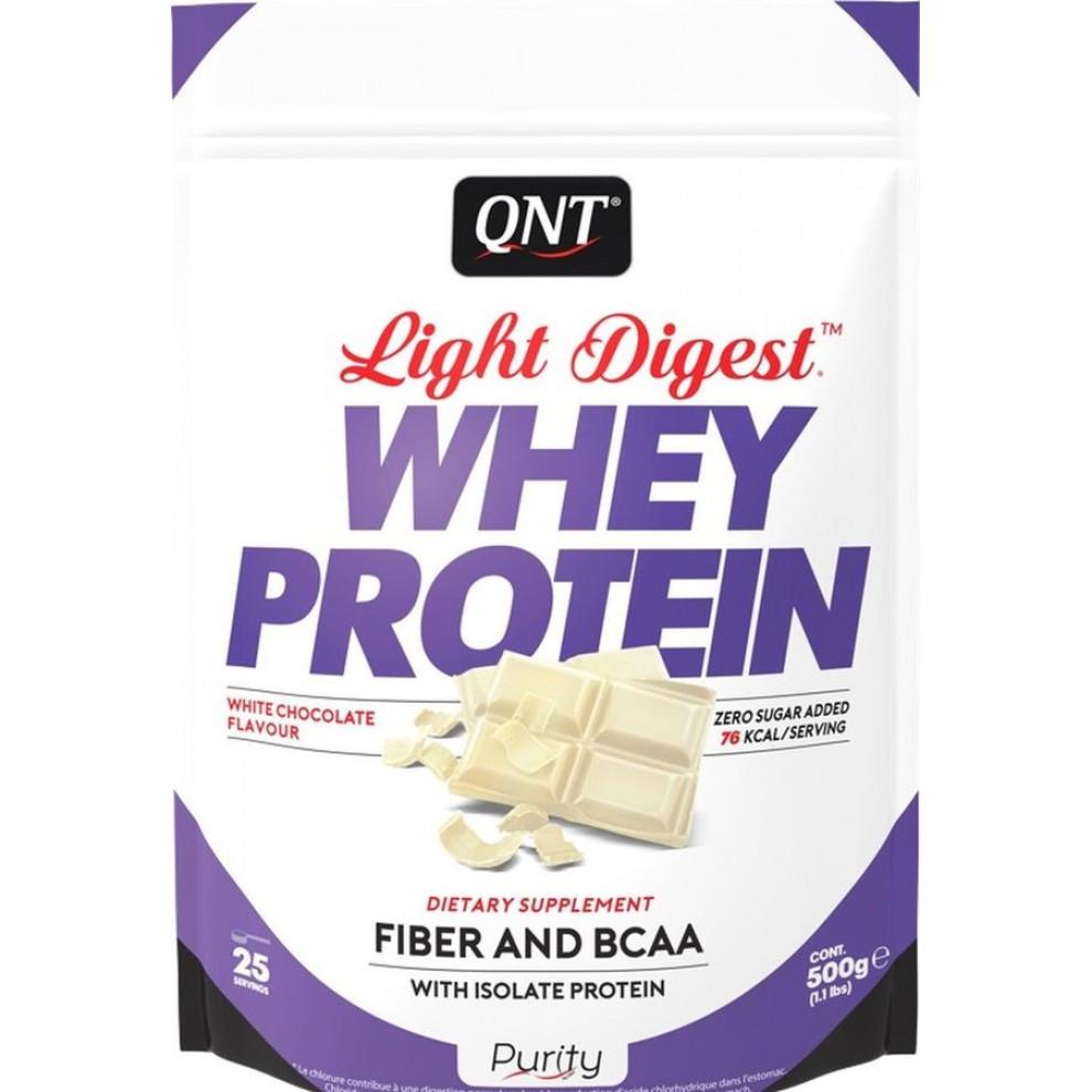 Протеин, QNT, Whey Protein, кокос, 500 г