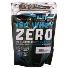 Протеин, IsoWhey Zero, BiotecUSA, (клубника), 500 г