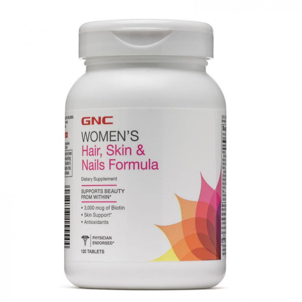 Вітаміни, GNC, Women`s Hair, Skin & Nails Program