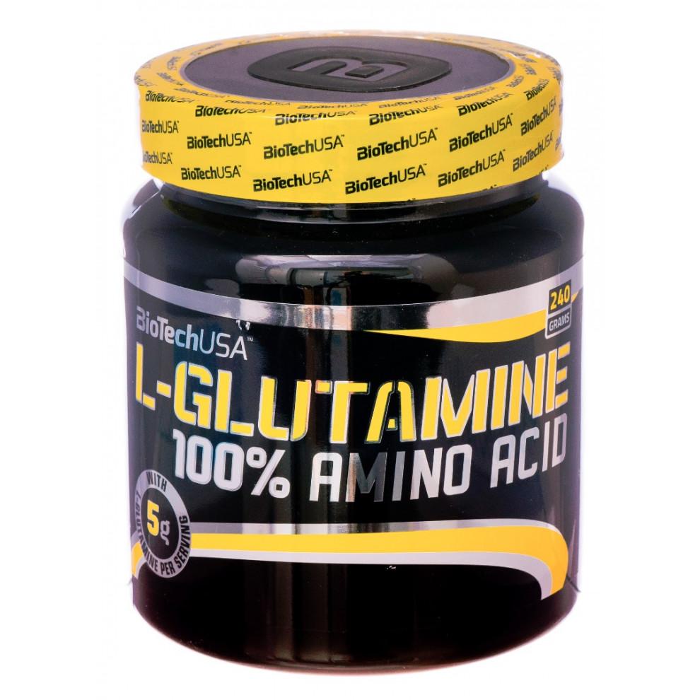Глютамин, Scitec Nutrition L-Glutamine, 300 г