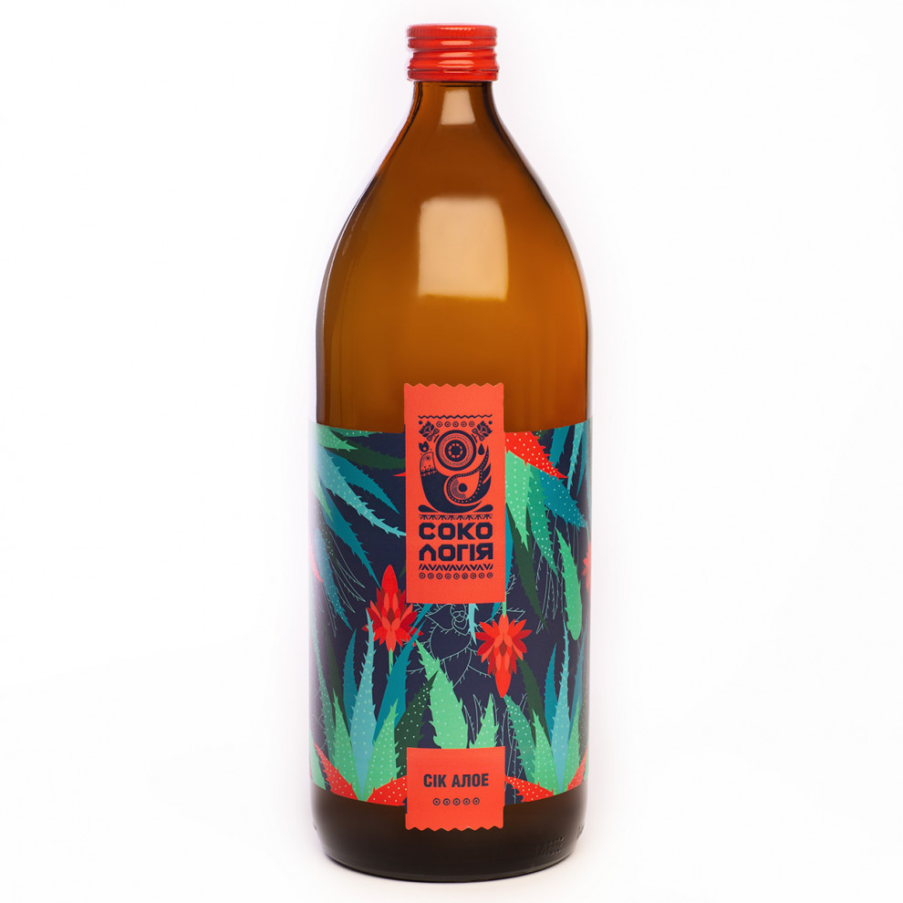 Сок алоэ вера, Сокологія, Aloe Vera Juice, 1 л