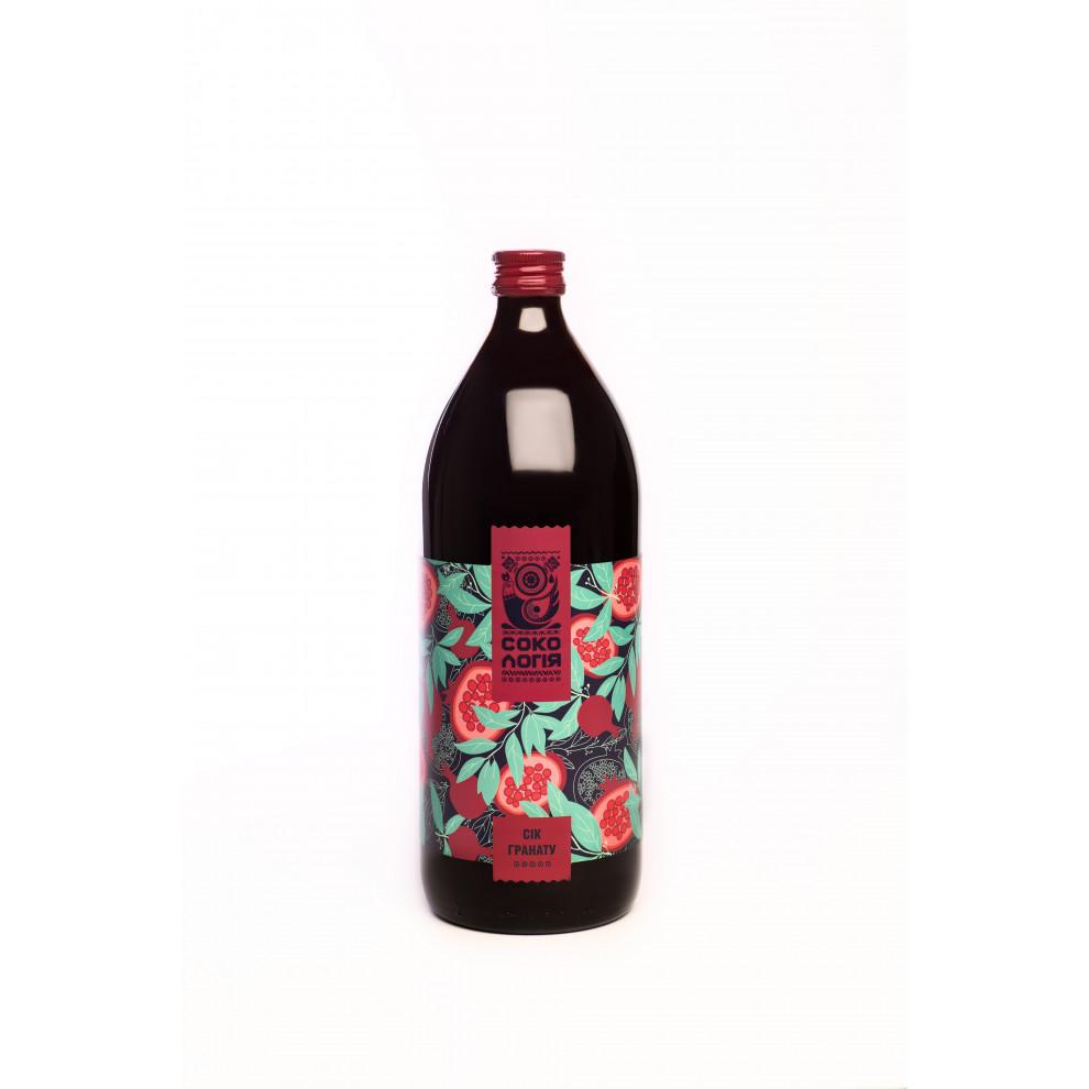 Сок граната, Сокологія, Pomegranate Juice, 1 л
