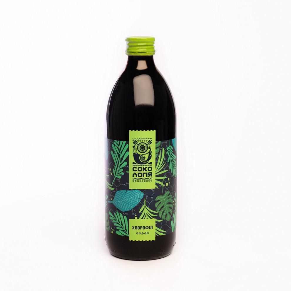 Сок хлорофилла, Сокологія, Chlorophyl juice, 500 мл
