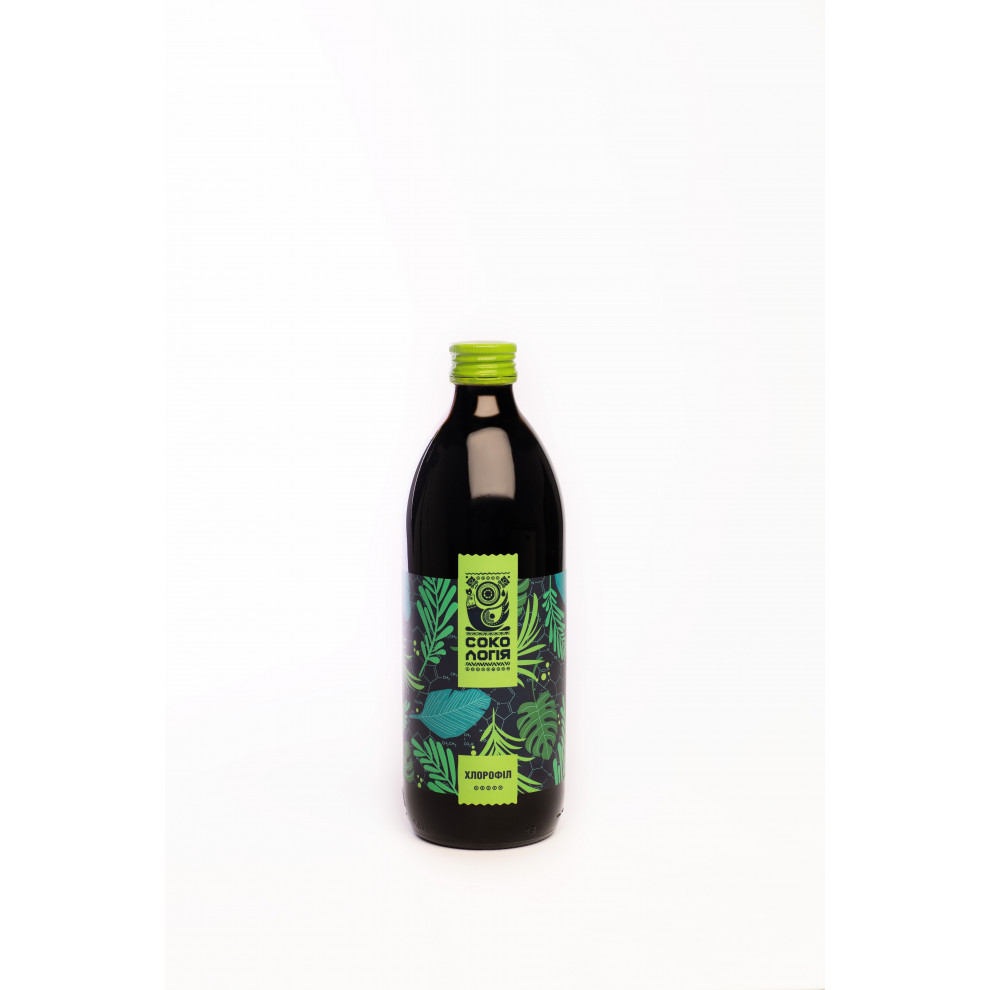 Сік Хлорофілу, Сокологія, Chlorophyl juice, 500 мл
