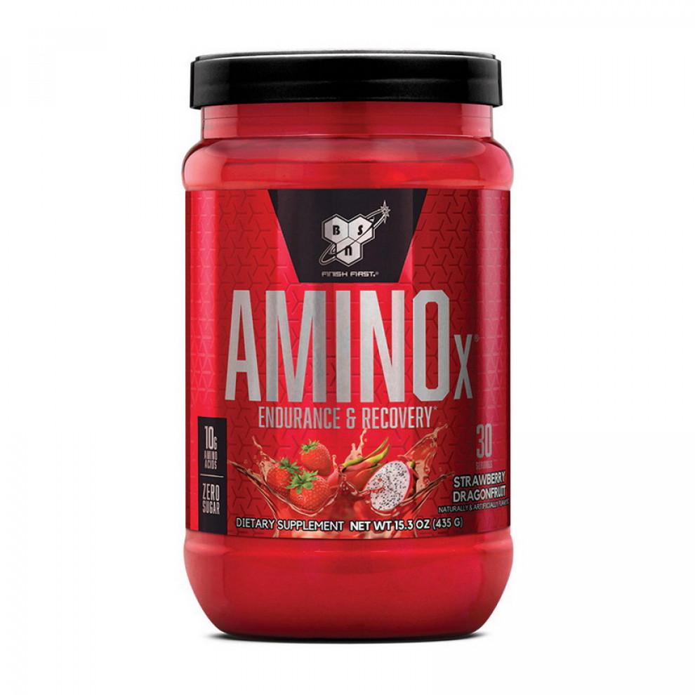 Амино Х, BSN, Amino X, (клубника-питайя), 435 г