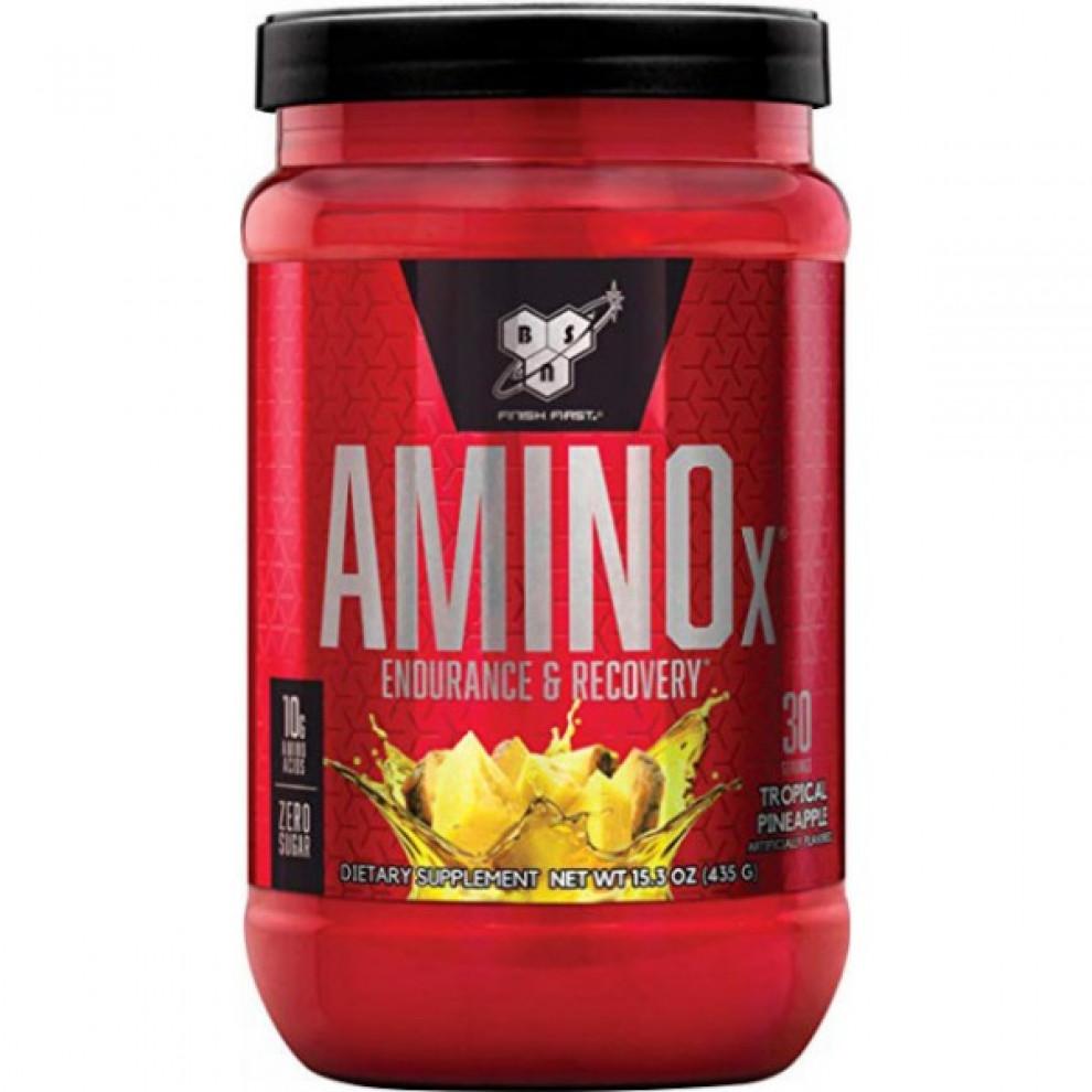 Амино Х, BSN, Amino X, (ананас), 435 г