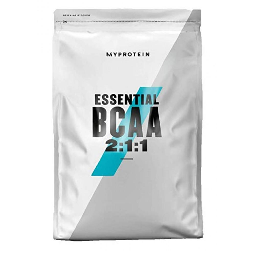 БЦАА, MyProtein, BCAA powder, (голубая малина), 500 г