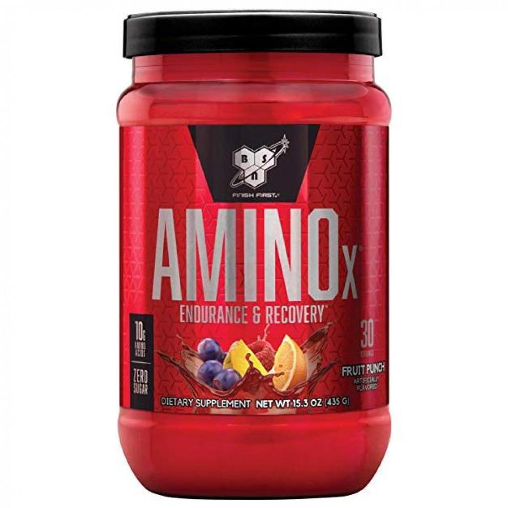 Аміно Х, BSN, Amino X, (фруктовий пунш), 435 г