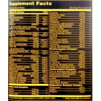 Мультивітаміни для чоловіків, Universal Nutrition, Animal pak, 44 пакети